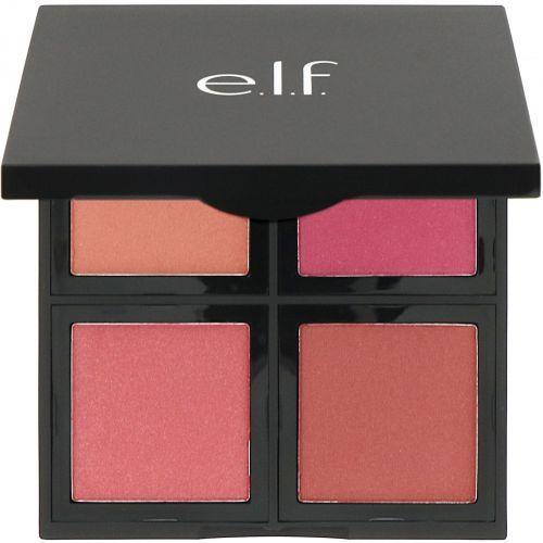 E.L.F. Cosmetics, Палетка румян, темных оттенков, 0,56 унции (16 г)