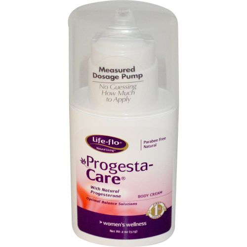 Life Flo Health, Progesta, крем для ухода за телом, 57 г