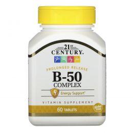 21st Century, Комплекс B-50, 60 таблеток