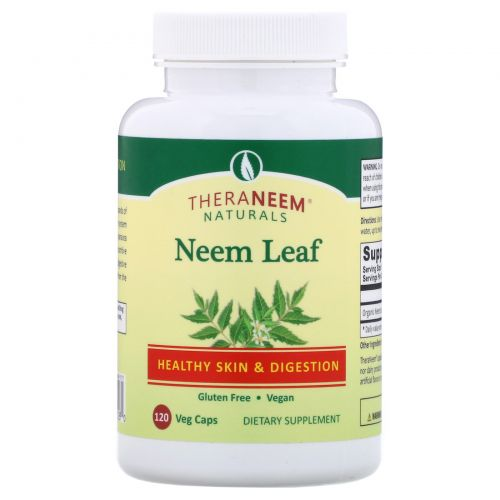 Organix South, TheraNeem Organix, Neem Leaf, 120 Veggie Caps