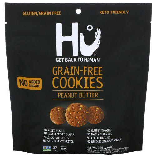Hu, Grain-Free Cookies, Peanut Butter, 2.25 oz (64 g)