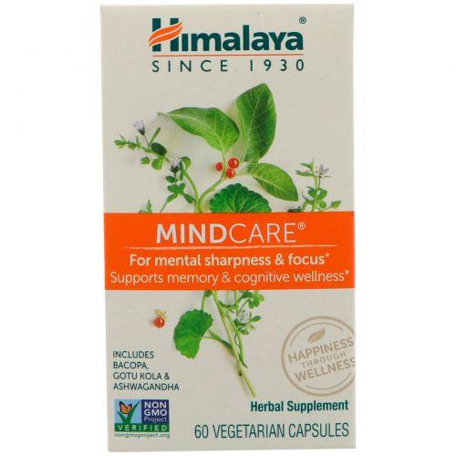 Himalaya, MindCare, 60 вегетарианских капсул