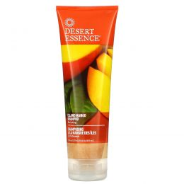 Desert Essence, Шампунь Island Mango, улучшающий, 8 жидких унций (237 мл)
