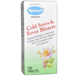Hyland's, Блистеры от простуды & жара, 100 таблеток