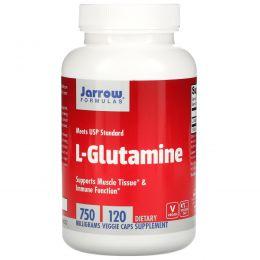 Jarrow Formulas, L-глутамин, 750 мг, 100 капсул