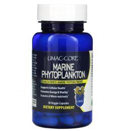 Umac-Core, Морской фитопланктон, 90 вегетарианских капсул