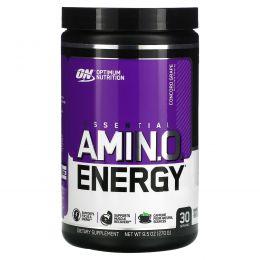 Optimum Nutrition, Essential Amin.O. Energy, виноград сорта