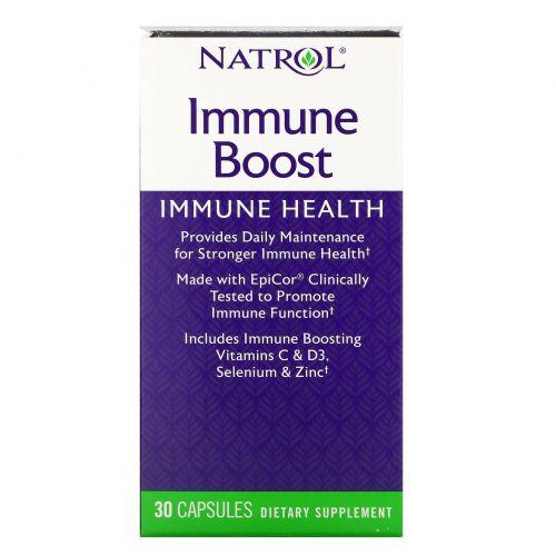 Natrol, Усиление иммунитета, с EpiCor, 30 быстродействующих капсул
