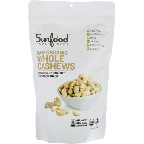 Sunfood, Cashews, 1 lb