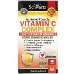 BioSchwartz, Advanced Formula Vitamin C Complex, 120 Capsules