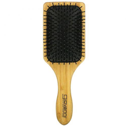 Giovanni, Bamboo Paddle Hairbrush, 1 Brush