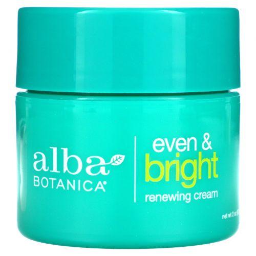 Alba Botanica, Even Advanced, омолаживающий ночной крем с морскими минералами, 57 г