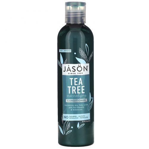 Jason Natural, Treatment Conditioner, чайное дерево, 227 г
