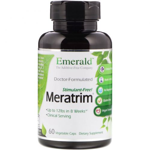 Ultra Laboratories, Мератрим, 800 мг, 60 капсул