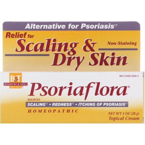 Boericke & Tafel, «Псориафлора», крем для локального применения, 1 унция
