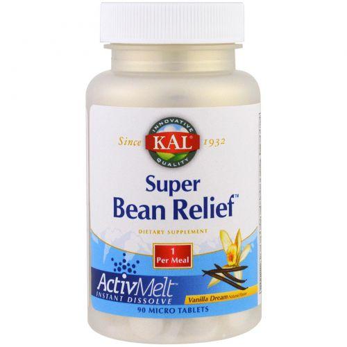 KAL, Super Bean Relief, ванильный сон, 90 микротаблеток