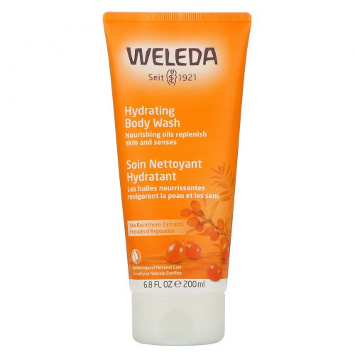Weleda, Густой облепиховый гель для тела, 6.8 жидких унций (200 мл)