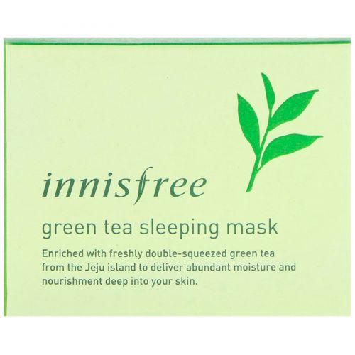 Innisfree, Green Tea Sleeping Mask, 80 ml