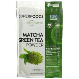 MRM, Натуральный порошок из зеленого чая Matcha, 6 унций(170 г)