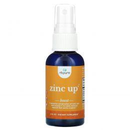 NB Pure, Zinc Up+, 2жидких унции
