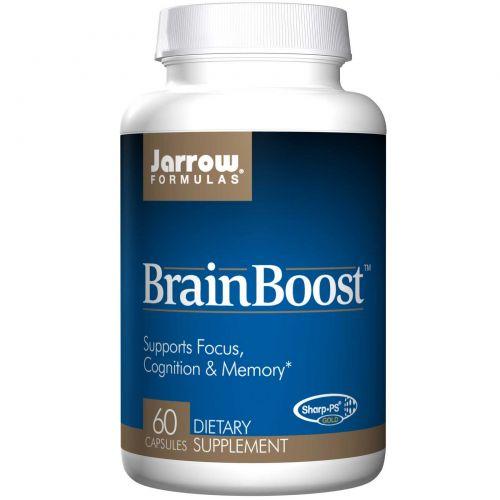 Jarrow Formulas, BrainBoost, 60 капсул