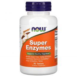 Now Foods, Супер энзимы, 90 таблеток