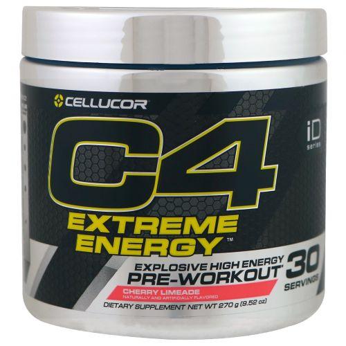 Cellucor, C4 Экстремальная энергия, перед тренировкой, вишневый лаймад, 9,52 унций (270 г)