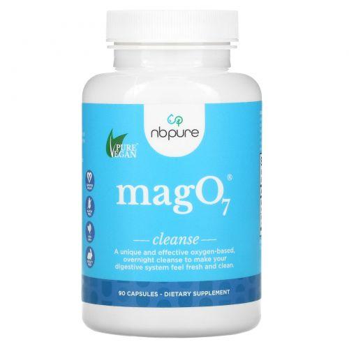 Aerobic Life, Mag 07, лучшее средство для очистки пищеварительной системы, насыщающее кислородом, 90 вегетарианских капсул