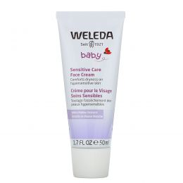 Weleda, Детский крем для чувствительной кожи лица, 50мл (1,7жидк.унции)