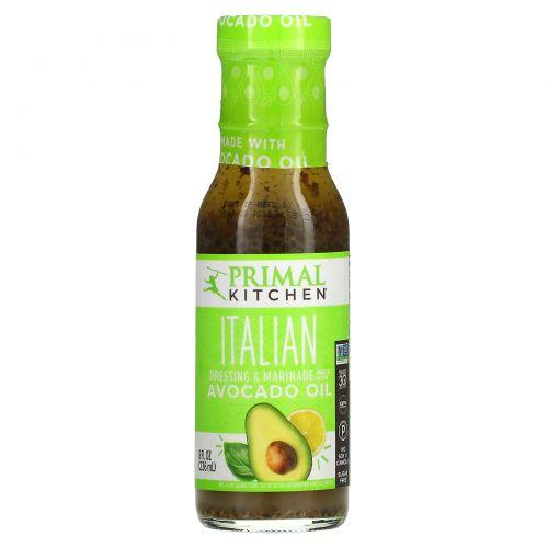 Primal Kitchen, Italian Vinaigrette & Marinade Made With Avocado Oil, 8 fl oz (236 ml)