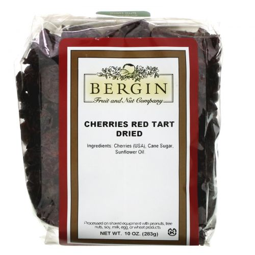 Bergin Fruit and Nut Company, Сушеная вишня, 10 унций
