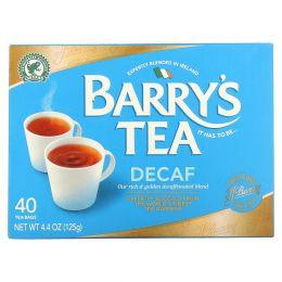 Barry's Tea, Чайная смесь без кофеина, 40 чайных пакетиков, 4.4 унции (125 г)