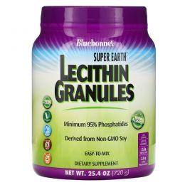 Bluebonnet Nutrition, Супер-земля, лецитиновые гранулы, 720 г