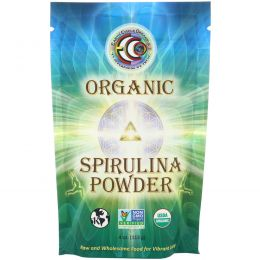 Earth Circle Organics, Необработанный органический порошок спирулины, 4 унции (113 г)