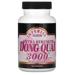 Imperial Elixir, Дудник китайский, усиленная формула, 3000 мг, 120 капсул