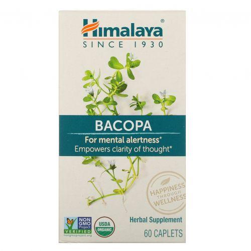 Himalaya, Бакопа, 60 капсуловидных таблеток