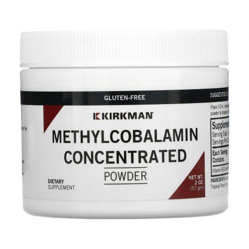 Kirkman Labs, Концентрированный порошок метилкобаламина, 2 унции (57 г)