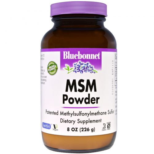 Bluebonnet Nutrition, Порошок MSM, 8 унций (226 г)