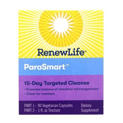 Renew Life, ParaSmart, Microbial Cleanse, 2 Part Program
