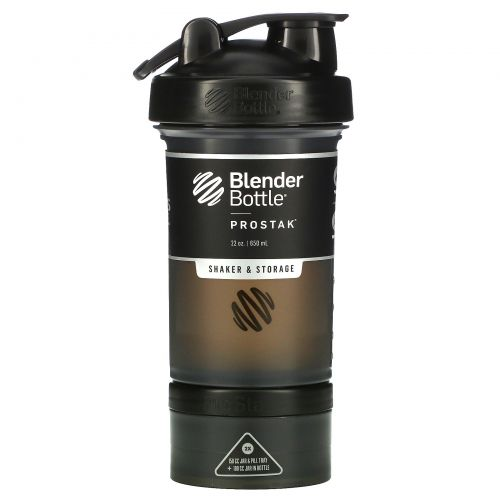 Sundesa, BlenderBottle, ProStak, Black, 22 oz