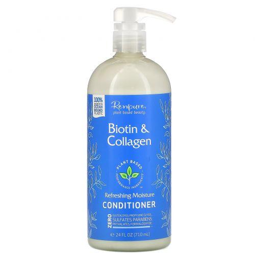 Renpure, Biotin & Collagen Conditioner, 24 fl oz (710 ml)