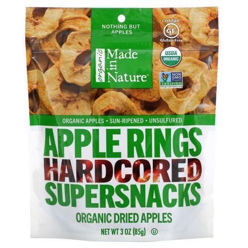 Made in Nature, Органические яблоки, 3унции (85г)
