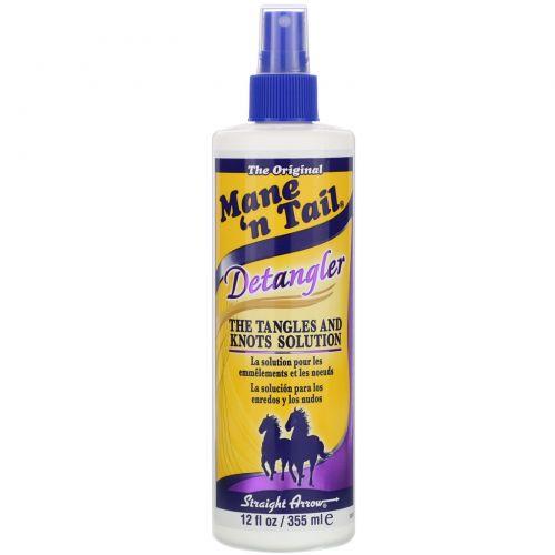Mane 'n Tail, Спрей, облегчающий расчесывание волос, 12 жидких унций (355 мл)