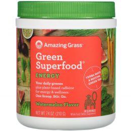 Amazing Grass, Green Superfood, Энергия, Арбуз, 7,4 унции (210 г)