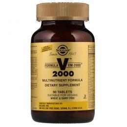 Solgar, Formula VM-2000, Multinutrient Formula , 90 Tablets