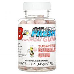 B-Fresh Inc., Освежающая дыхание жевательная резинка, Жевательная резинка, 50 штук