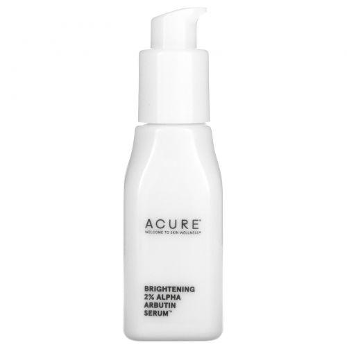 Acure, Brightening 2% Alpha Arbutin Serum, 1 fl oz (30 ml)