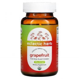 Eclectic Institute, Грейпфрут в порошке, сырой, 3,2 унции (90 г)
