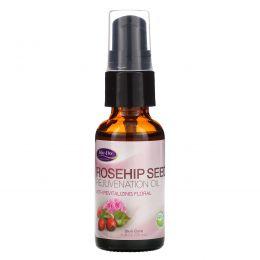 Life Flo Health, Омолаживающее масло шиповника с бодрящим ароматом флорали, 1 жид. унция(30 мл)