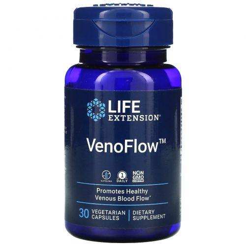 Life Extension, VenoFlow, 30 Растительных капсул